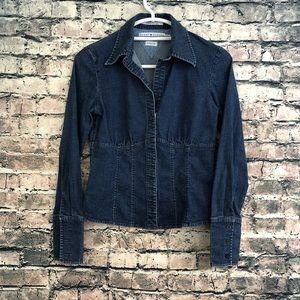 Cute Vintage Tommy Hilfiger Jeans Jean Jacket